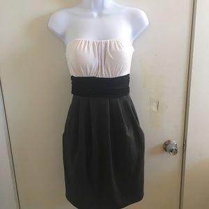 Vintage sleeveless tie back dress large NWT